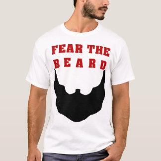 Tema a barba camiseta