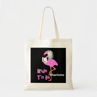 Tema cor-de-rosa bonito do partido de galinha de bolsa tote