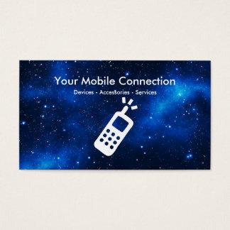 Tema da tecnologia do telefone de Mbile Cartão De Visitas