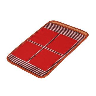 Tema de seda do quadrado do cetim - páletes bolsas de MacBook