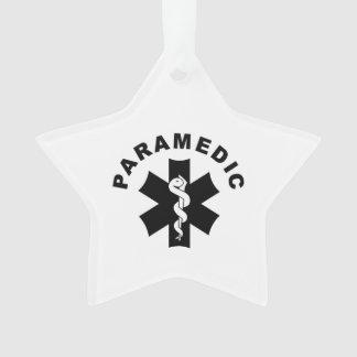 Tema do paramédico ornamento
