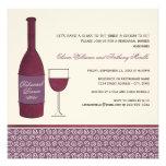 Tema do vinho dos convites | do jantar de ensaio d