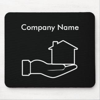 Tema dos bens imobiliários mouse pad