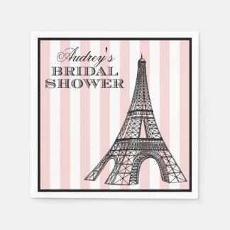 Tema dos guardanapo   Paris France do chá de