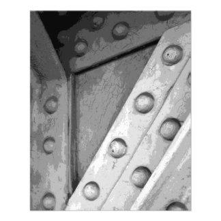 Tema industrial Digital art. Panfletos Personalizado