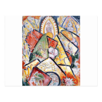 Tema musical (sinfonia oriental) por Marsden Hartl Cartão Postal