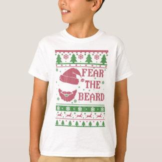 Tema o Natal feio da barba Camiseta