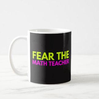 Tema o professor de matemática - caneca de ensino