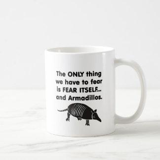 Tema-o próprio Armdillos Caneca De Café