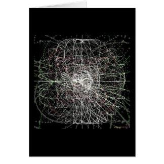 Temas Sparkling 3,2 (cartão) Cartão Comemorativo