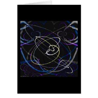 Temas Sparkling 5,4 (cartão) Cartão Comemorativo