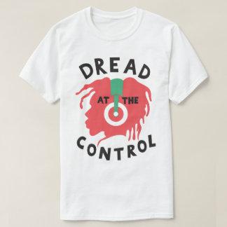 Temor no t-shirt de Rasta DJ do Dub da reggae do Camiseta