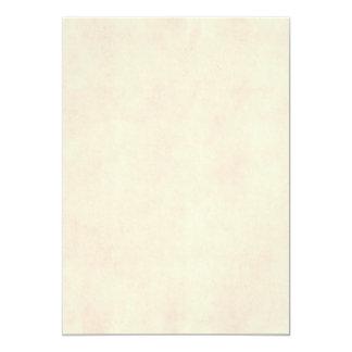 Temp de papel antigo bege do pergaminho neutro do convite 12.7 x 17.78cm