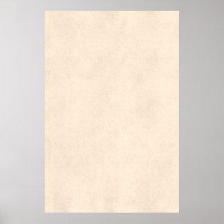 Temp de papel antigo bege do pergaminho neutro do pôster