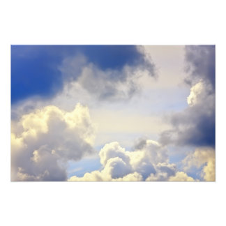 Tempestade do Cumulus Foto Arte