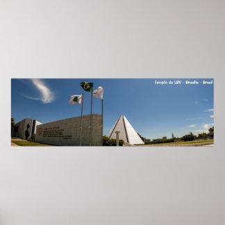 Templo da Boa Vontade - Brasilia Posteres