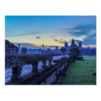 Templo de Angkor Wat - cartão de Cambodia