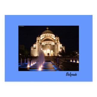 templo de Belgrado do cartão