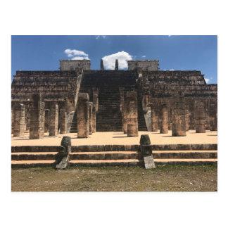 Templo de Chichen Itza do cartão dos guerreiros #2
