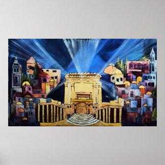 Templo de Jerusalem Poster