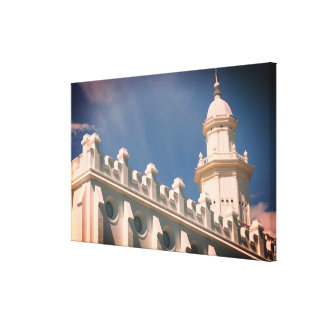 Templo de Mormon de St George Utá Impressão Em Canvas
