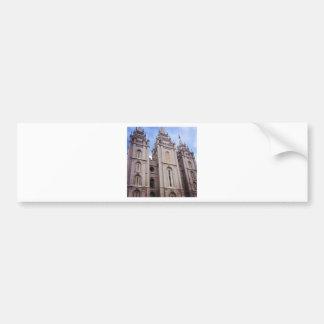 Templo de Salt Lake City Adesivo Para Carro