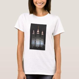 Templo de Salt Lake na noite Camiseta