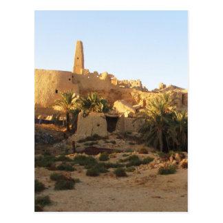 Templo de Siwa de Amun - Oracle de Siwa Cartão Postal