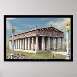 Templo de Zeus na Olympia Posters
