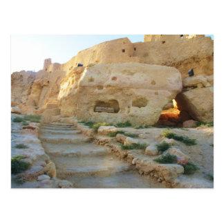 Templo do Amon no oracle de Siwa - de Siwa Cartão Postal