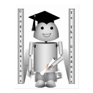 Tempo da graduação para Robo-x9! Cartão Postal