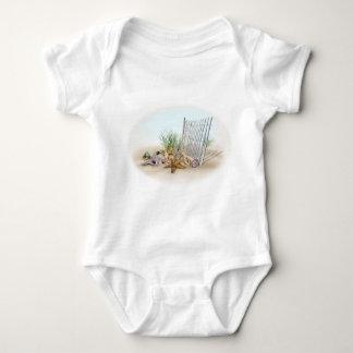 Tempo da praia body para bebê