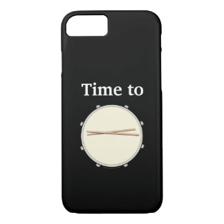 Tempo das capas de iphone do baterista rufar