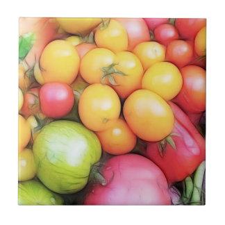 Tempo de colheita - tomates!