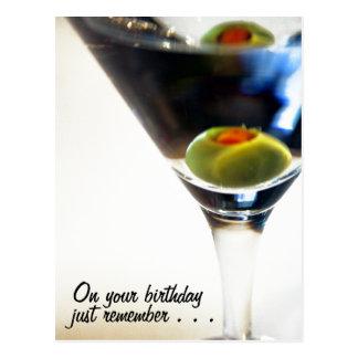 Tempo de Martini! cartão