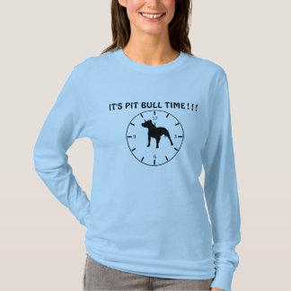 Tempo de Pitbull Camiseta
