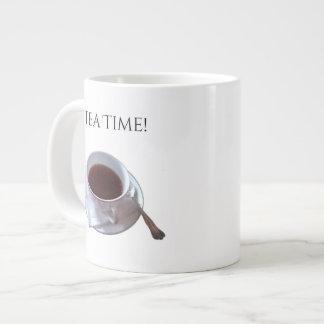 Tempo do chá! Caneca