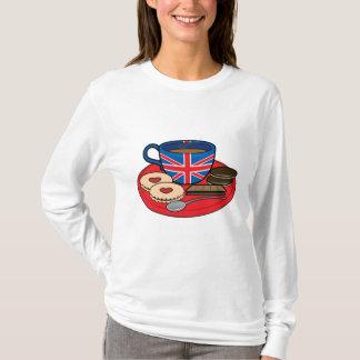 Tempo do chá em Grâ Bretanha Camiseta