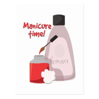 Tempo do Manicure! Cartão Postal