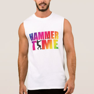 Tempo do martelo do arco-íris! Camisa do lance de
