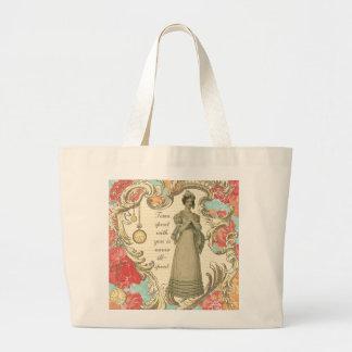 Tempo passado com você bolsas para compras