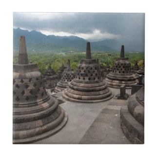 Temporal sobre Borobudur
