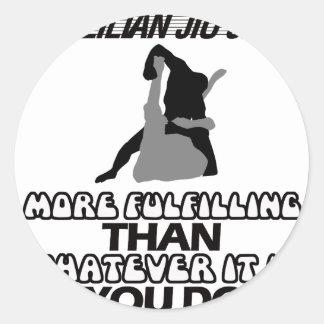 Tendendo o DESIGN de Jiu Jitsu Adesivo