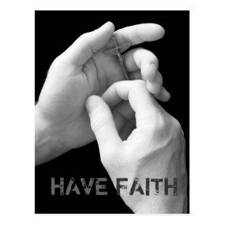 Tenha o cartão da fé