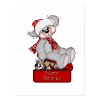 Tenha o Feliz Natal de um Beary! - Cartão
