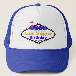Tenha um boné fabuloso do aniversário de Las