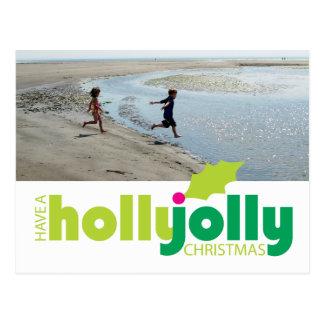 Tenha um cartão alegre da foto do Natal do