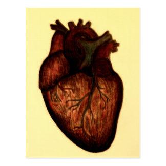Tenha um coração cartão postal