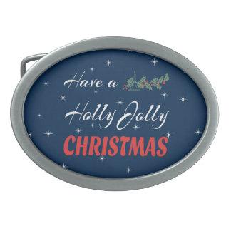 Tenha um Natal alegre do azevinho