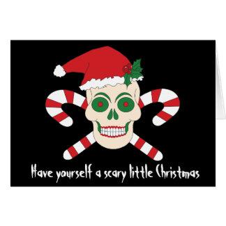 Tenha você mesmo um cartão de Natal pequeno